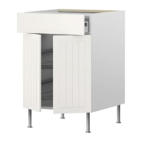 akurum base cab w wire basket drawer door white 196 del off white 15 quot ikea cas pantry and running on pinterest
