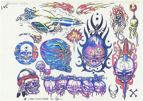 tattoo flash wholesale wholesale pdf format tattoo book traditional tattoo 110