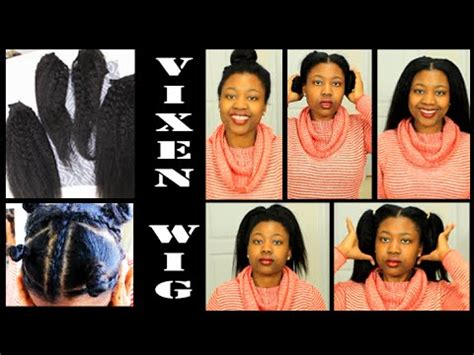 vixen sew in for large foreheads how to 2 part lace wig sew in with leave out