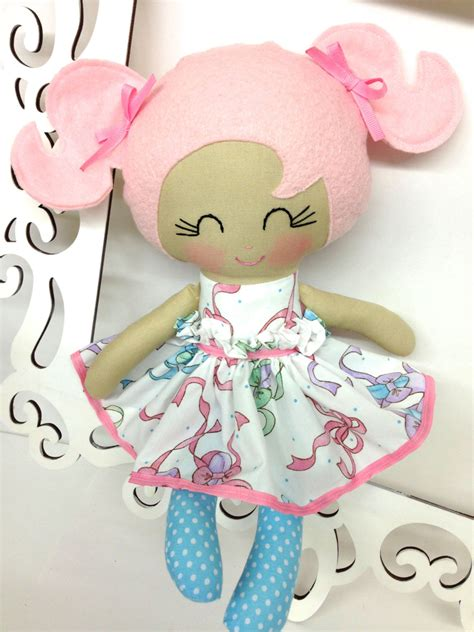 Handmade Fabric Dolls - handmade dolls plush soft doll fabric doll cloth doll