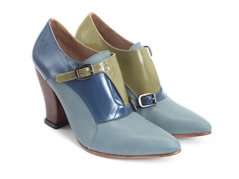 fluevog shoes fluevog shoes shop glenham blue green heeled