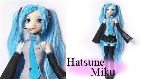 posable doll tutorial hatsune miku inspired doll poseable polymer clay