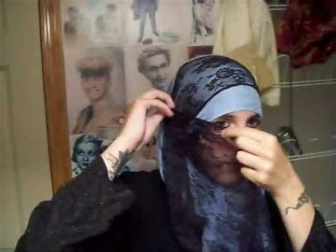 niqab tutorial on dailymotion bridal niqab tutorial with naheed vidoemo emotional
