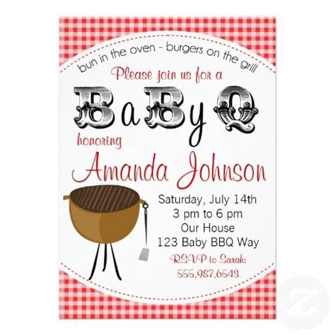 backyard baby shower invitations 17 best images about baby shower invitation templates on