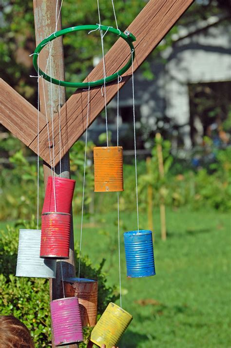 Handmade Wind Chimes For Your Home - fascinating tin designed in colorful options color as