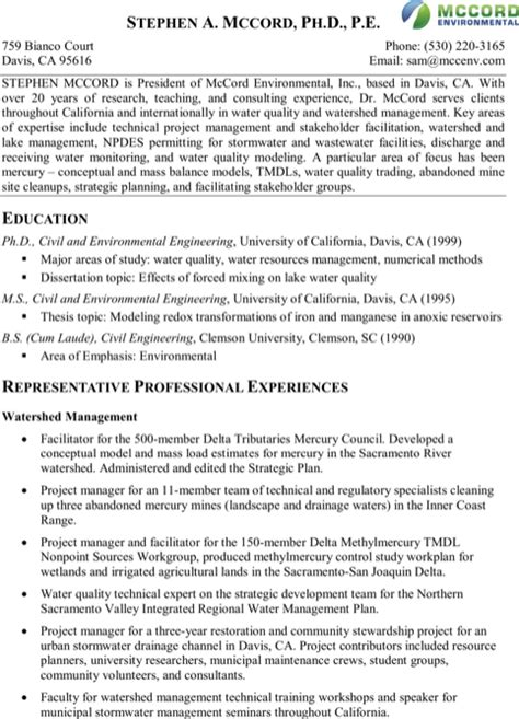 project manager resume template for excel pdf and word