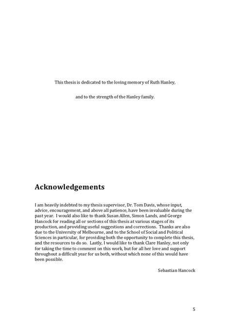 acknowledgement in thesis for family thesis family acknowledgement illustrationessays web fc2 com