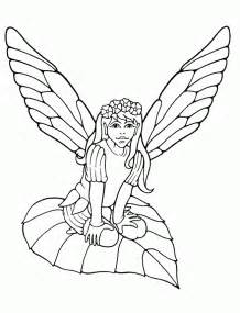 fairy coloring pages girls coloring