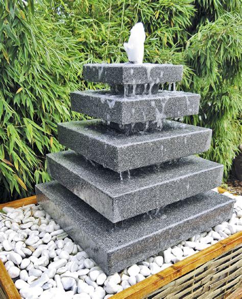 Gartenbrunnen Set Stein