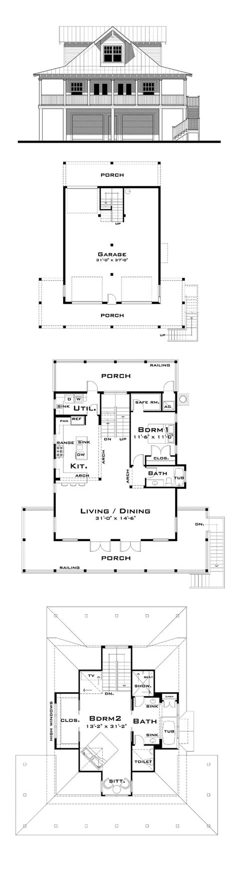 cracker style home floor plans 16 best images about florida cracker house plans on