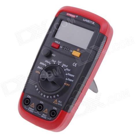 capacitance meter using pic ua6013l 5 x 3cm lcd display digital capacitance meter multimeter black 1 x 6f22
