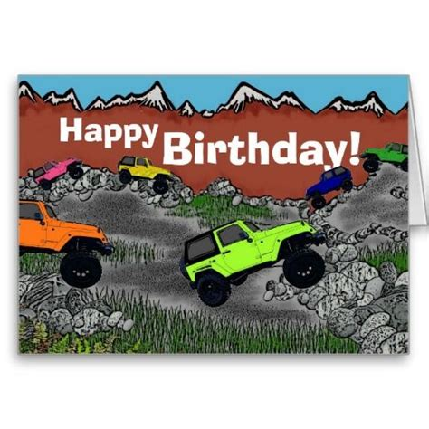 jeep card birthday wishes with jeep