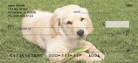 golden retriever personal checks golden retriever personal checks golden retriever checks