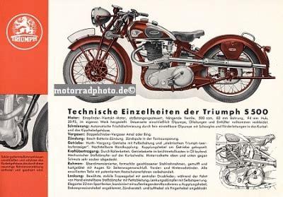 Triumph Motorrad N Rnberg by Motormobilia Triumph S 500 1937
