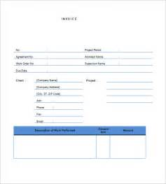 contract for work to be performed template free contractor invoice templates free premium templates