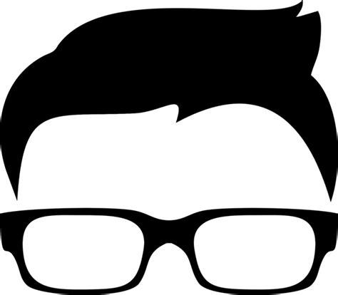Kacamata Sunglasses Abstract boy eye glasses hair 183 free vector graphic on pixabay