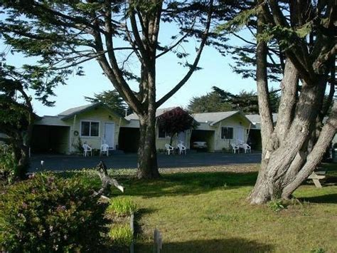 Fully Equipped Kitchen With All Dishes Full Size Fridge Shoreline Cottages Fort Bragg
