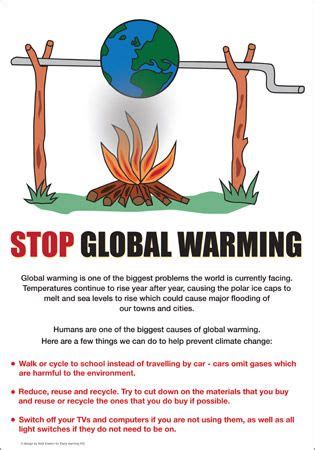 global warming poster | sustainability school project