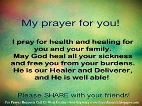 prayer quotes for your health quotesgram