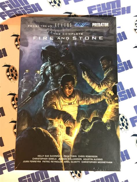 prometheus the complete fire dark horse the complete fire and stone prometheus aliens avp predator limited hard slipcase