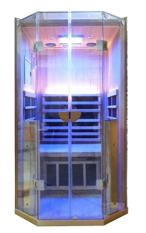 Near Infrared Sauna Niacin Detox by All New Sanctuary One Person Sauna Coming Soon