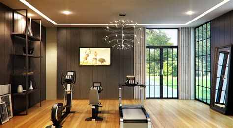 fitnessraum zu hause moment space