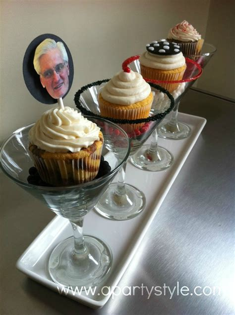 martini cupcake a style martini glasses and cupcakes