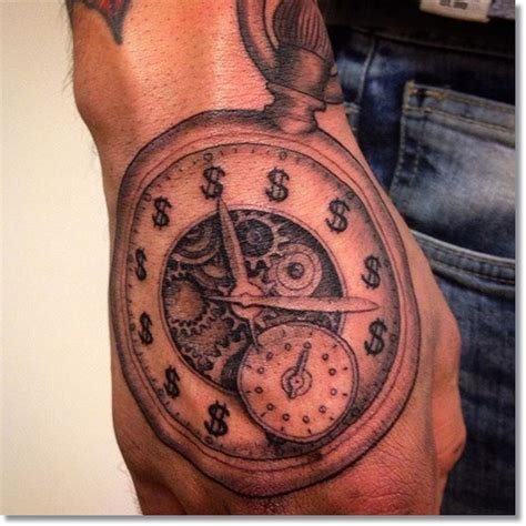 pocket watch tattoo meaning 75 brilliant pocket designs made