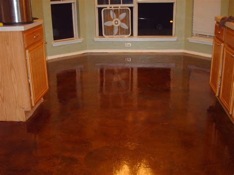 make beautifull concrete stain epoxy floors