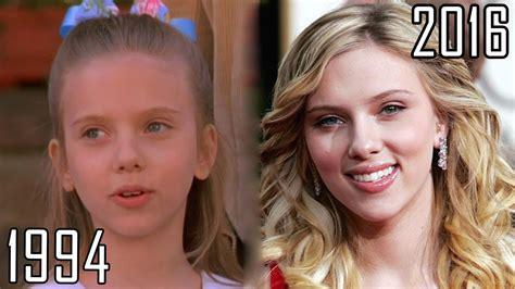 2016 1994 Scarlett Johansson 1994 2016 All List From 1994