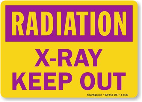 printable x ray radiation sign image gallery x ray radiation