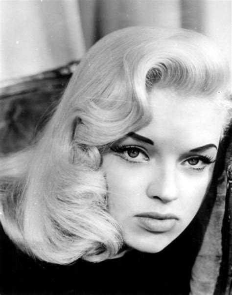 Rest In Peace Jeanne Of The 1950s Pinup Fame by Diana Dors The Eyebrows W Platinum Hair