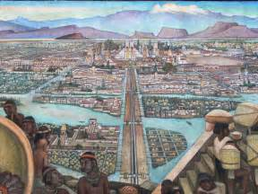 What Is The Interior Of Mesoamerica Like Bcr Year 8 History Images Of Tenochtitlan