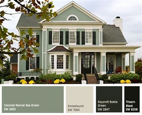 green house color the perfect paint schemes for house exterior exterior