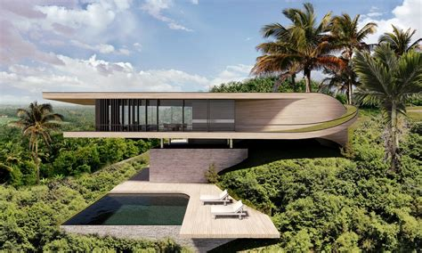 house of the day bali style modern on miami beach bali house 2 e architect