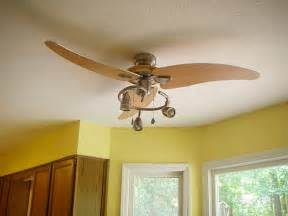 Kitchen Fan With Light A Overdue Ceiling Fan Upgrade For The Kitchen