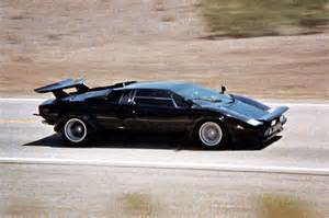 Lamborghini In Cannonball Run Pearls Top 10 Cars In A Supporting