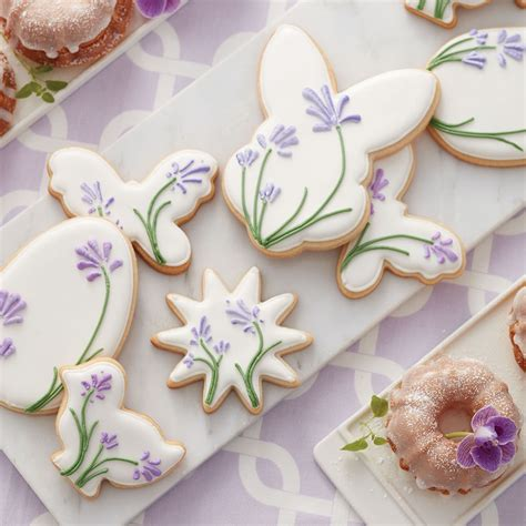 Cookie Cake Decorating Ideas by Blooming Easter Cookies Wilton