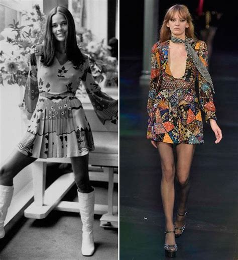 sexy 70s style then and now the 70s trend instyle com