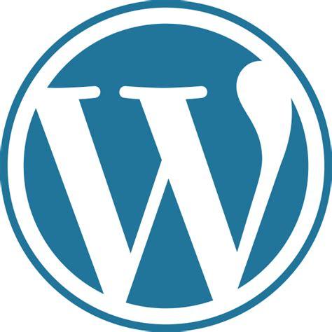 filewordpress blue logosvg wikimedia commons