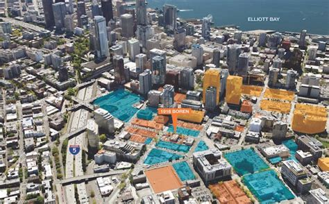 440 Square Feet Apartment by Downtown Seattle High Rise Dev Site Acquired For 25m