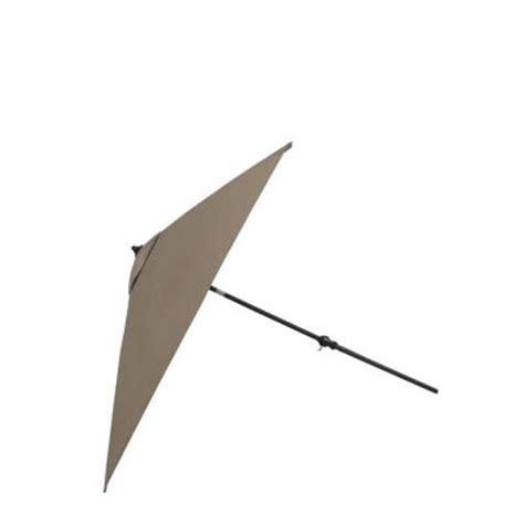 Martha Stewart Patio Umbrellas Martha Stewart Living Bryant Cove 9 Ft Patio Umbrella In Beige Dybc U The Home Depot
