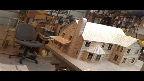 want to build a house 20 popsicle house build last time lapse finishing