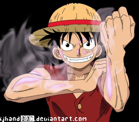Monkey D Luffy Gear Second monkey d luffy gear second by ijhand007 on deviantart
