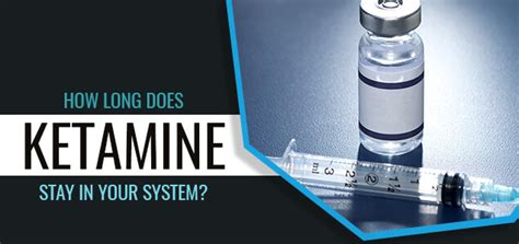 Hetamine Detox For Test by How Does Ketamine Stay In Your System