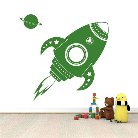 rocket wall stickers rocket wall sticker cutzz