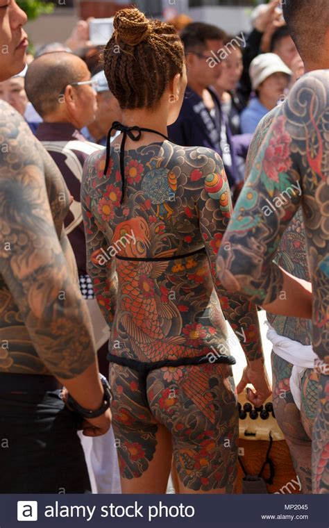 japanese yakuza tattoo yakuza stock photos yakuza stock images