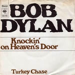 curiosidades de canciones bob knocking on heaven
