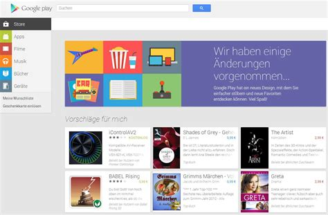 design google play google play jetzt mit neuem design