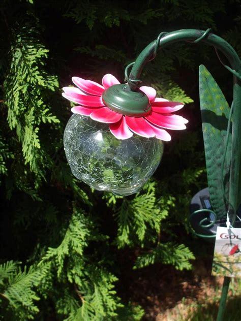 Solar Garden Flowers Solar Powered Light Pink Or Yellow Flower Garden Stake New Ebay
